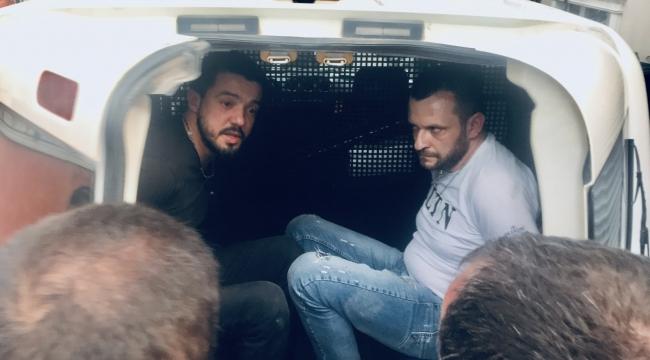 Dur ihtarına uymayan sürücü, ablukaya alınarak yakalandı