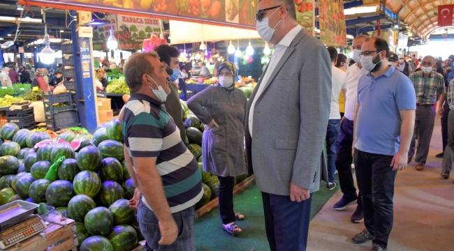 Karacabey'de yeni pazar yeri projesi geleceğe hitap edecek