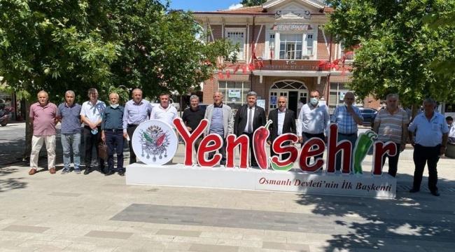 Komisyon üyeleri Yenişehir'de incelemelerde bulundu