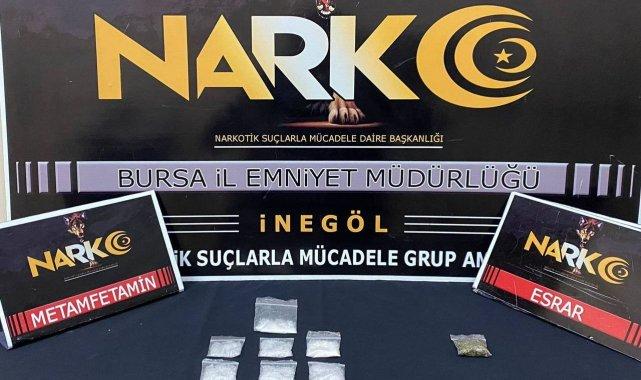 İnegöl'de uyuşturucu operasyonu: 7 gözaltı