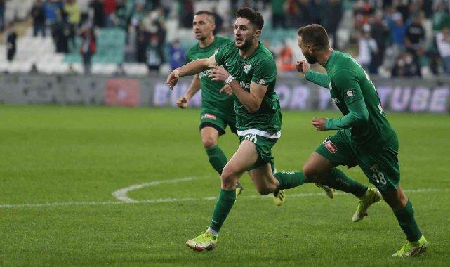 TFF 1. Lig: Bursaspor: 2 - Boluspor: 0